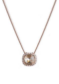 Givenchy Silk Cushion Pendant Necklace
