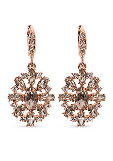 Givenchy Rose Gold-Tone Chandelier Earrings