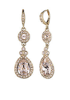 Givenchy Gold-Tone Drop Earrings