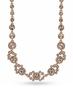Givenchy Gold-Tone Rose Collar Necklace