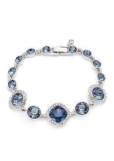 Givenchy Silver-Tone Blue Flex Bracelet