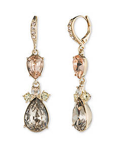 Givenchy Women's Gold Tone Double Drop Earrings