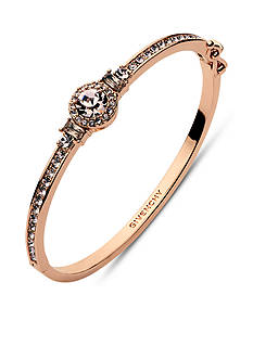 Givenchy Rose Gold-Tone Stone Bangle