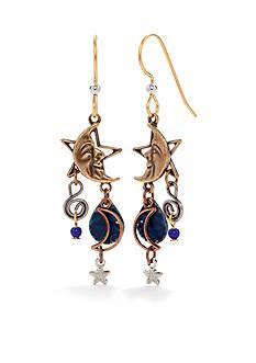 Silver Forest® Celestial Charm Cascade Earrings