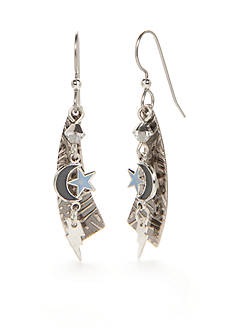 Silver Forest® Silver-Tone Out of the Blues Starstruck Earrings