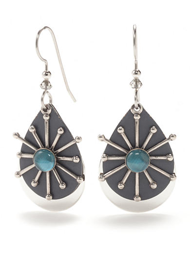 Silver Forest® Silver-Tone Out of The Blues Drop Earrings