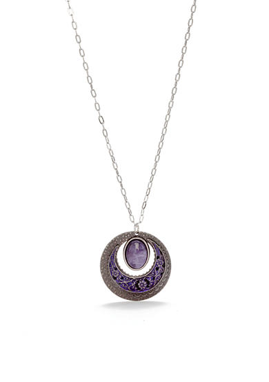 Silver Forest® Vintage Round Necklace