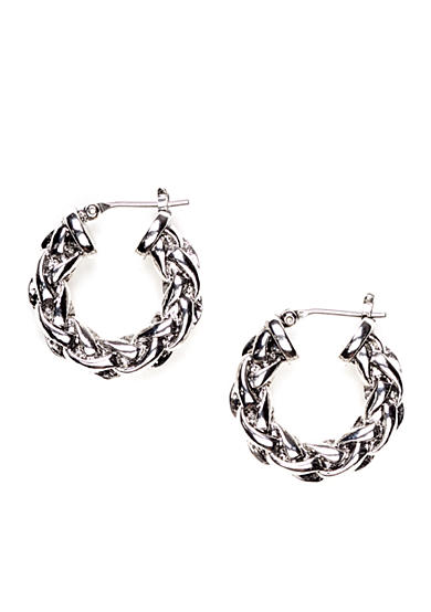 Lauren Ralph Lauren Braided Hoop Earring