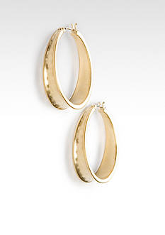 Lauren Ralph Lauren Gold Hoop Earrings