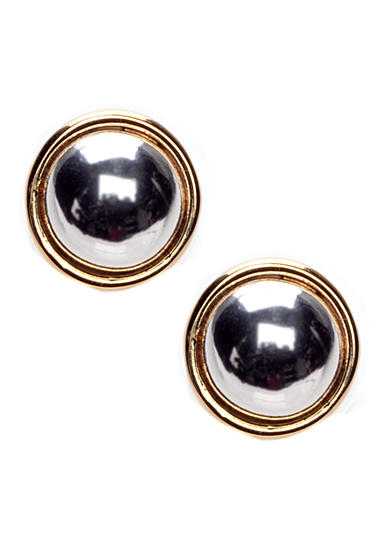 Lauren Ralph Lauren Button Stud Earring