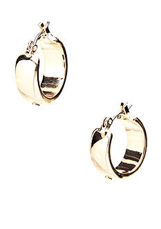 Lauren Ralph Lauren Metal Link Hoop Earrings