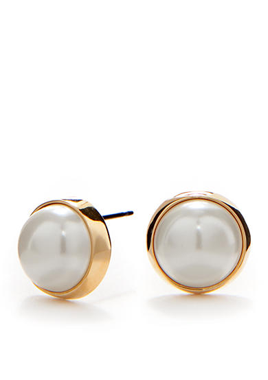 Lauren Ralph Lauren Pearl Stud Earrings