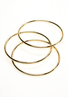 Lauren Ralph Lauren Set Of Three Bangles