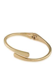 Lauren Ralph Lauren Feminine Gold-Tone Metal Sculpt Bracelet