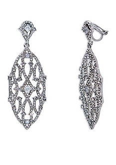 Lauren Ralph Lauren Silver-Tone Estate Chandelier Earrings