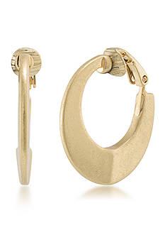 Lauren Ralph Lauren Hoop Clip Earrings