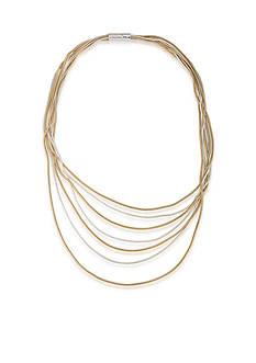 Lauren Ralph Lauren Mix Master Two Tone Snake Chain Necklace