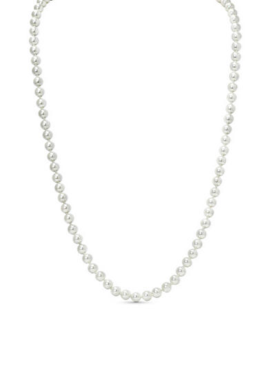 Lauren Ralph Lauren Social Set 8mm Pearl Necklace