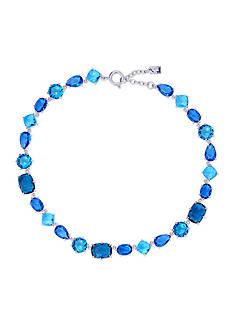 Lauren Ralph Lauren Mad About Hue Blue Stone Collar Necklace