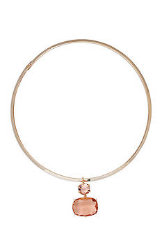 Lauren Ralph Lauren Gold-Tone Mad About Hue Topaz Pendant Necklace