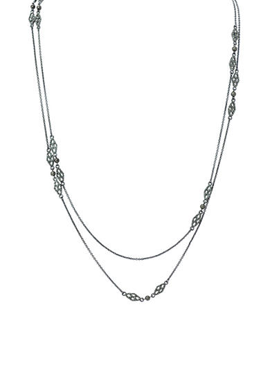 Lauren Ralph Lauren Hematite-Tone Estate Necklace