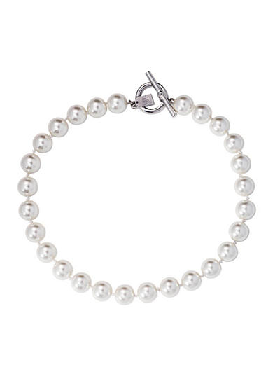 Lauren Ralph Lauren Social Set 14mm Pearl Necklace