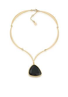 Lauren Ralph Lauren Treasure Trove Black Pendant Necklace