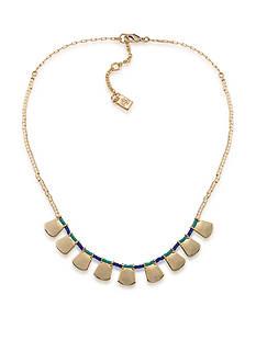 Lauren Ralph Lauren Gold-Tone Dream Weaver Frontal Necklace
