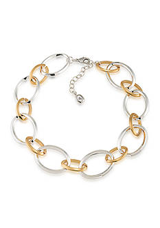 Lauren Ralph Lauren Two-Tone Mix Master Large Linked Necklace