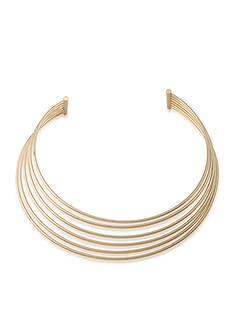 Lauren Ralph Lauren Hard Wire Choker Necklace