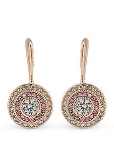 Lauren Ralph Lauren Feminine Rose-Gold Tone Vintage Drop Earrings