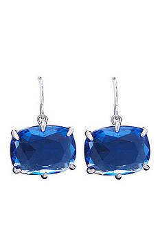 Lauren Ralph Lauren Mad About Hue Blue Medium Drop Pierced Earrings