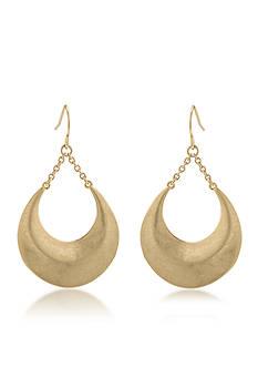 Lauren Ralph Lauren Gold-Tone Gypsy Drop Earrings