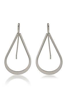 Lauren Ralph Lauren Silver-Tone Lauren All The Small Things Teardrop Earrings