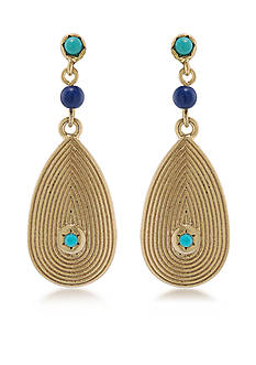 Lauren Ralph Lauren Chic Linear Drop Earrings