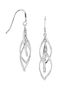Belk Silverworks Sterling Silver Triple Drop Earrings