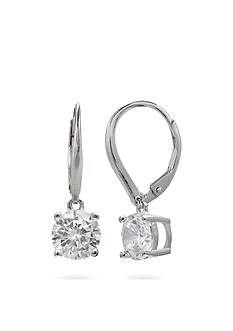 Belk Silverworks Sterling Silver Cubic Zirconia Drop Earrings