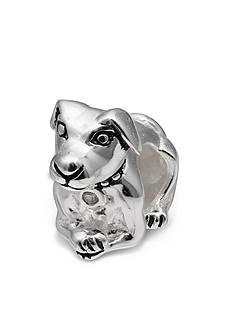 Belk Silverworks Cubic Zirconia Dog Originality Bead
