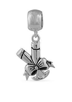 Belk Silverworks Sterling Silver Champagne Glass Originality Bead
