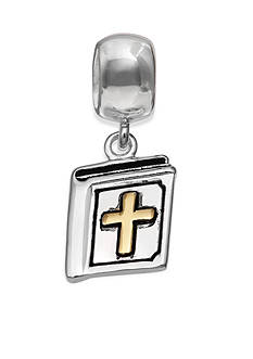 Belk Silverworks Two-Tone Bible Drop Originality Bead