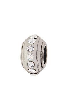 Belk Silverworks Clear Crystal Stopper Originality Bead