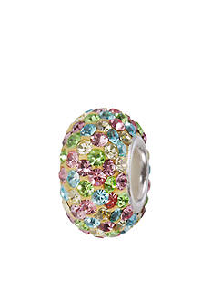 Belk Silverworks Multicolored Crystal Originality Bead
