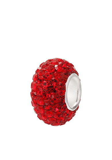 Belk Silverworks Red Crystal Originality Bead