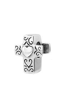 Belk Silverworks Cross Heart Originality Bead