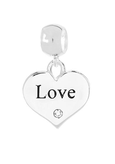 Belk Silverworks Drop Love Heart Originality Charm