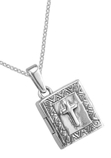 Belk Silverworks Bible Locket Pendant