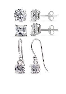 Belk Silverworks Sterling Silver Earring Set