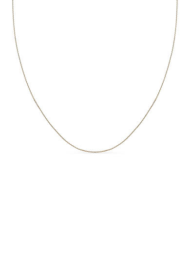Belk Silverworks 24k Gold-Plated Rolo Chain Necklace