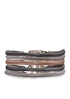 Jules B Tri-Tone Snake Charmer Magnetic Bracelet