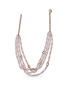 Jules B Gold-Tone Bubble Bath Multi-Strand Necklace